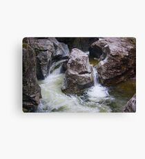 Rage at Bingham Falls Canvas Print