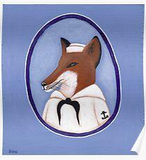 Foxy Sailor Poster
