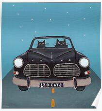 Black Volvo Amazon Poster