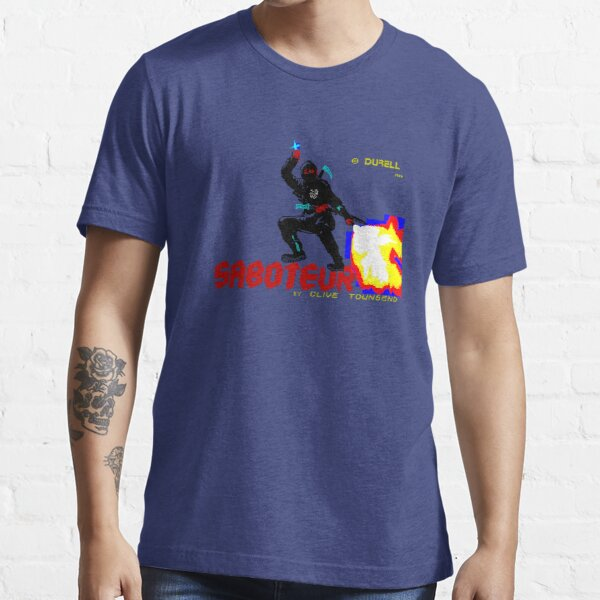 Loading Screen: Saboteur Essential T-Shirt