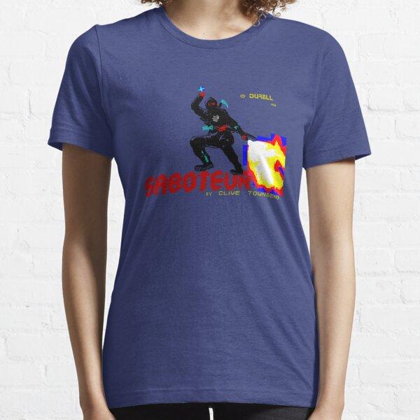 Loading Screen: Saboteur Essential T-Shirt