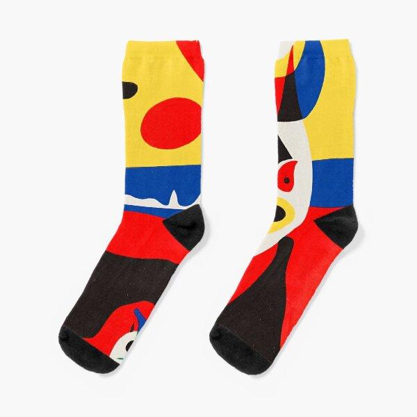 Joan Miró - Summer (1938) Socks