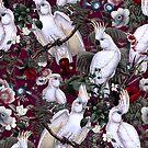 Floral and Birds XLI by Burcu Korkmazyurek