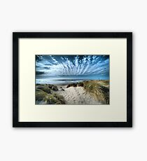 Crown Sky Framed Print