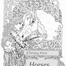Horse Wishes by redqueenself
