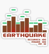 Earthquake Sticker