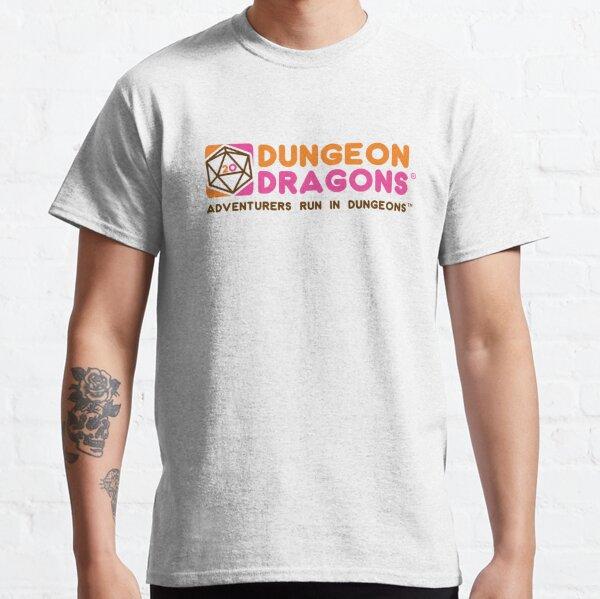 Dunkin Dungeon Dragon Donuts  Classic T-Shirt