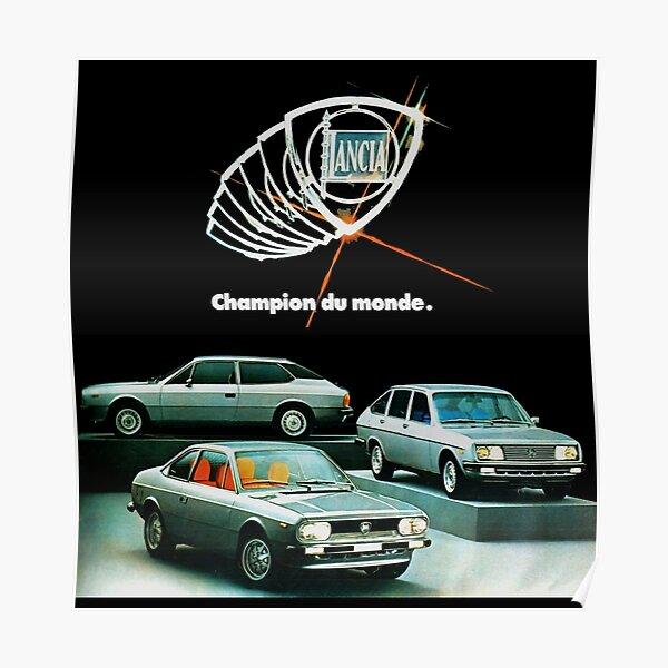Lancia beta classique voiture-sweat à capuche