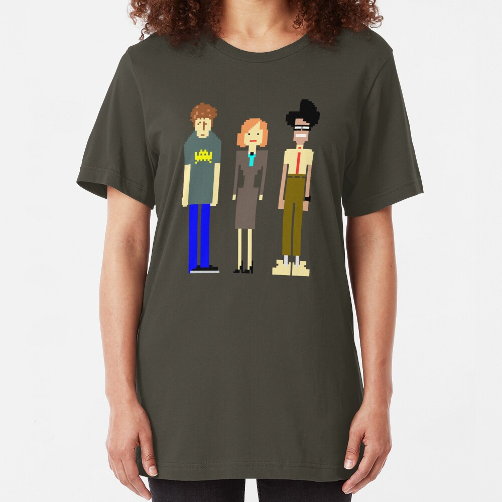 The IT Crowd Slim Fit T-Shirt
