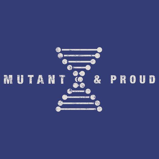 TShirtGifter presents: Mutant & Proud