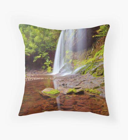 Russell Falls Mt Field NP Throw Pillow