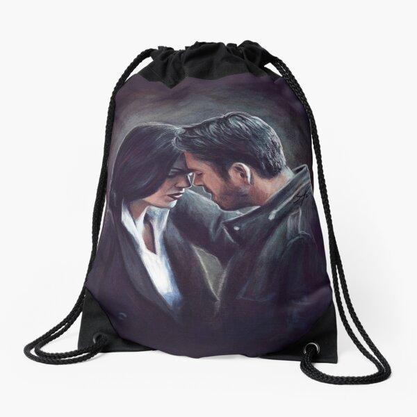 Together No Matter What Drawstring Bag