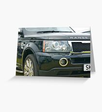 The Range Rover Greeting Card