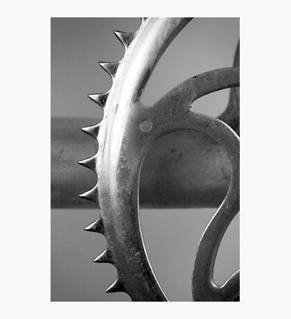 Old Bike Gear Photographic Print