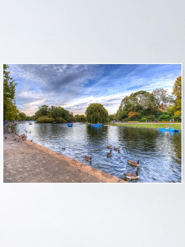Regents Park London Note Card