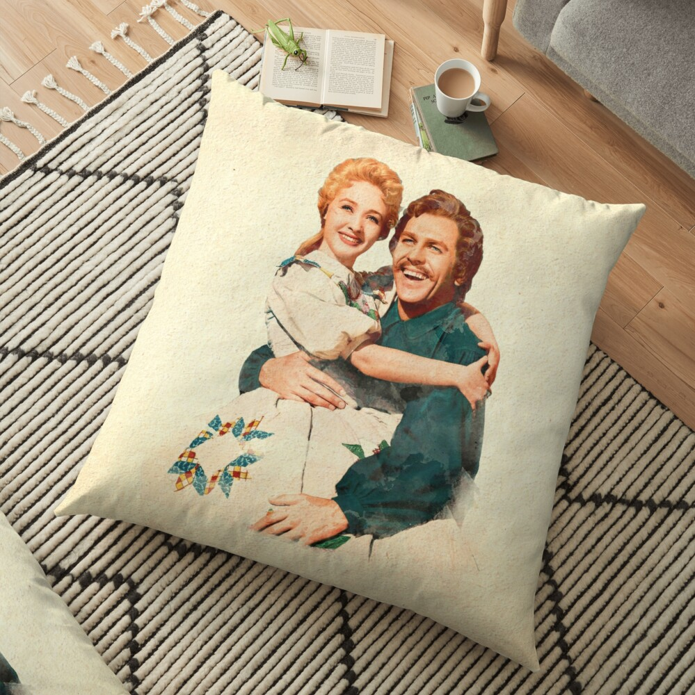 Seven Brides for Seven Brothers Floor Pillow
