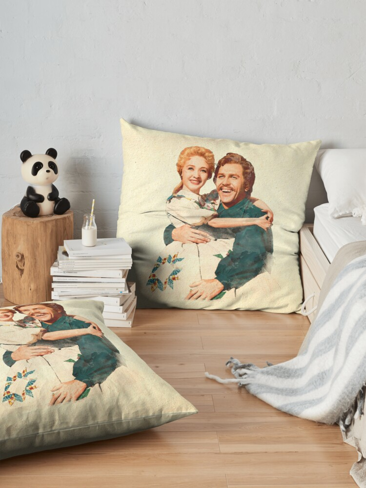 Alternate view of Seven Brides for Seven Brothers Floor Pillow