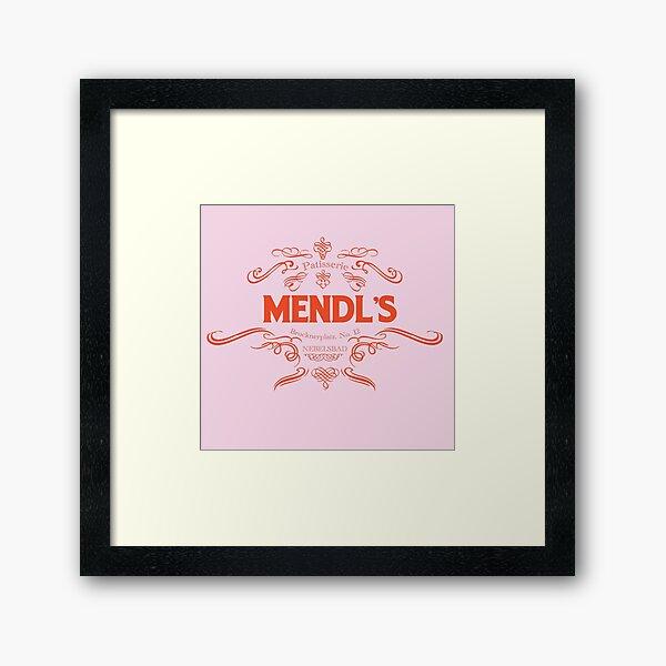 mendl's bakery  Framed Art Print