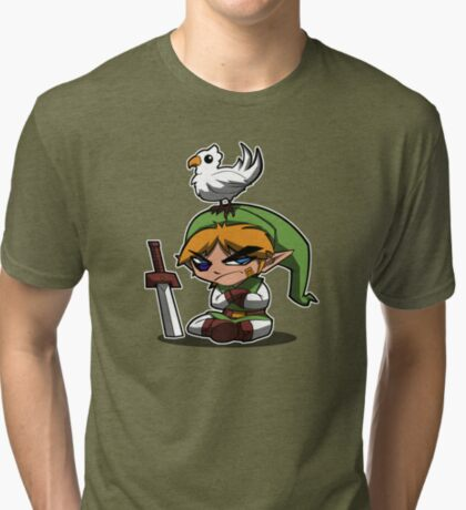 Link's PWNAGE! Tri-blend T-Shirt