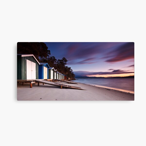 Coningham Beach Boat Sheds #2 Canvas Print