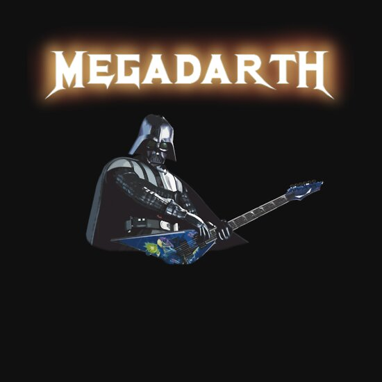TShirtGifter presents: Megadeth meets Darth Vader