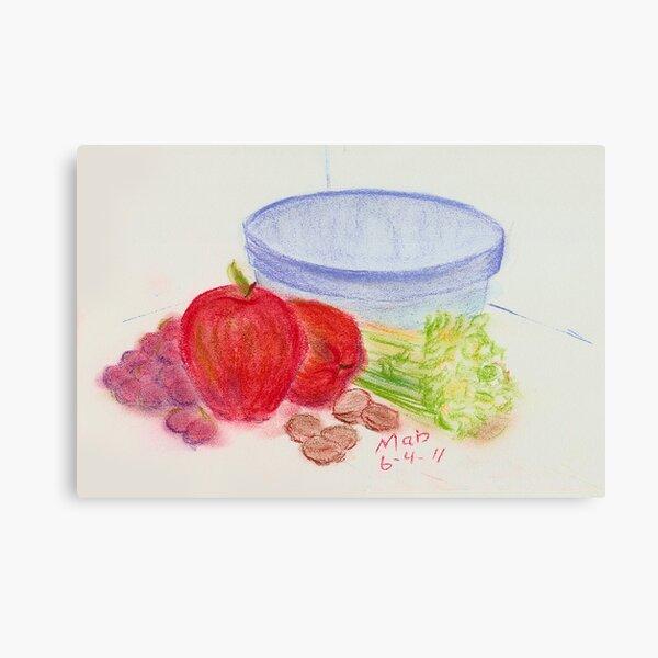 One Waldorf Salad Coming Up Canvas Print