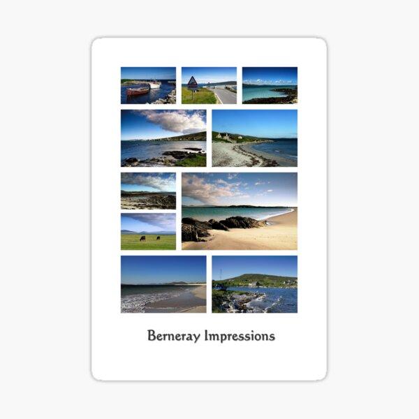 Berneray - Beàrnaraidh Sticker