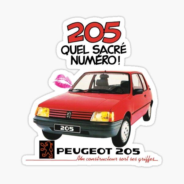 PEUGEOT 205 Pegatina