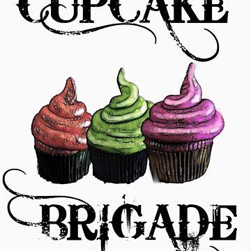 The Cupcake Brigade by Arkani