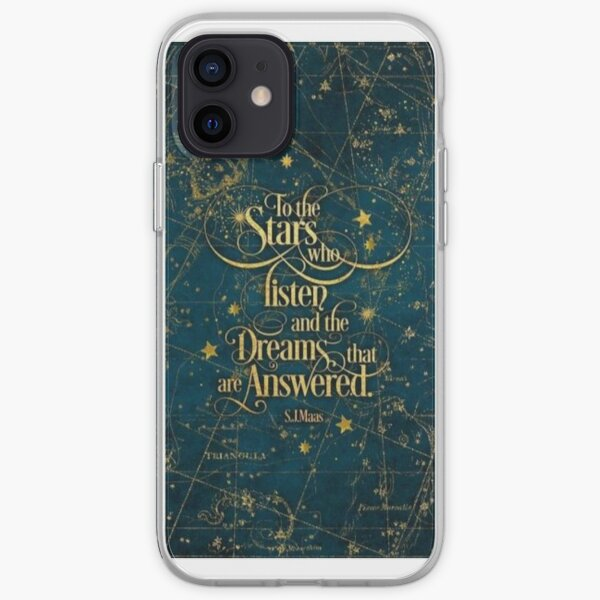 Sarah J Maas A Court Of Thorn And Roses iPhone Soft Case