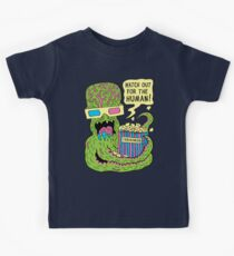 Alien Monster Movie Kids Tee