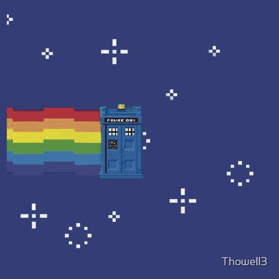 TShirtGifter presents: NYAN TARDIS