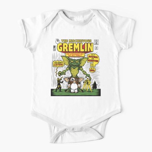 The Mischievous Gremlin Short Sleeve Baby One-Piece
