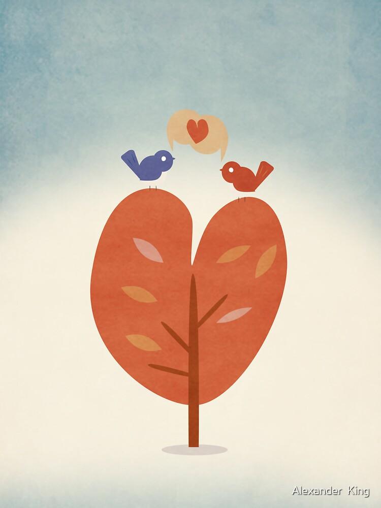 SweetyBirds - Love Birds by Alexander  King