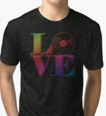 Vinyl Love Tri-blend T-Shirt