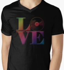 Vinyl Love Men's V-Neck T-Shirt
