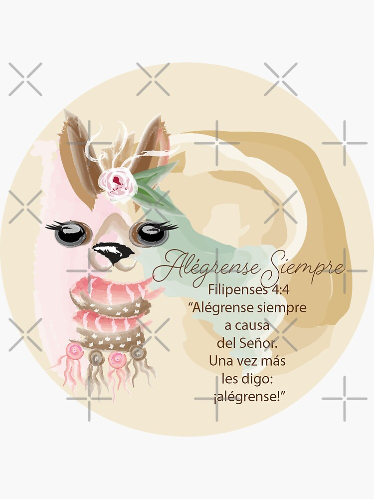 Spanish Llama Always Rejoice by CreativeContour