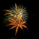 Fireworks on my village by Luca Renoldi