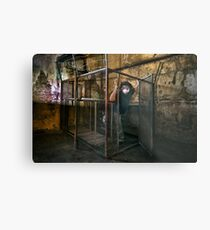 The Gimp Does a Runner Metal Print