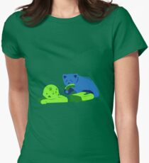 Gummy Bear Dinner Womens Fitted T-Shirt
