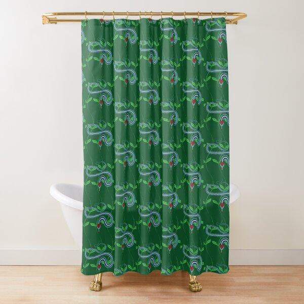 Snake Pattern Shower Curtain