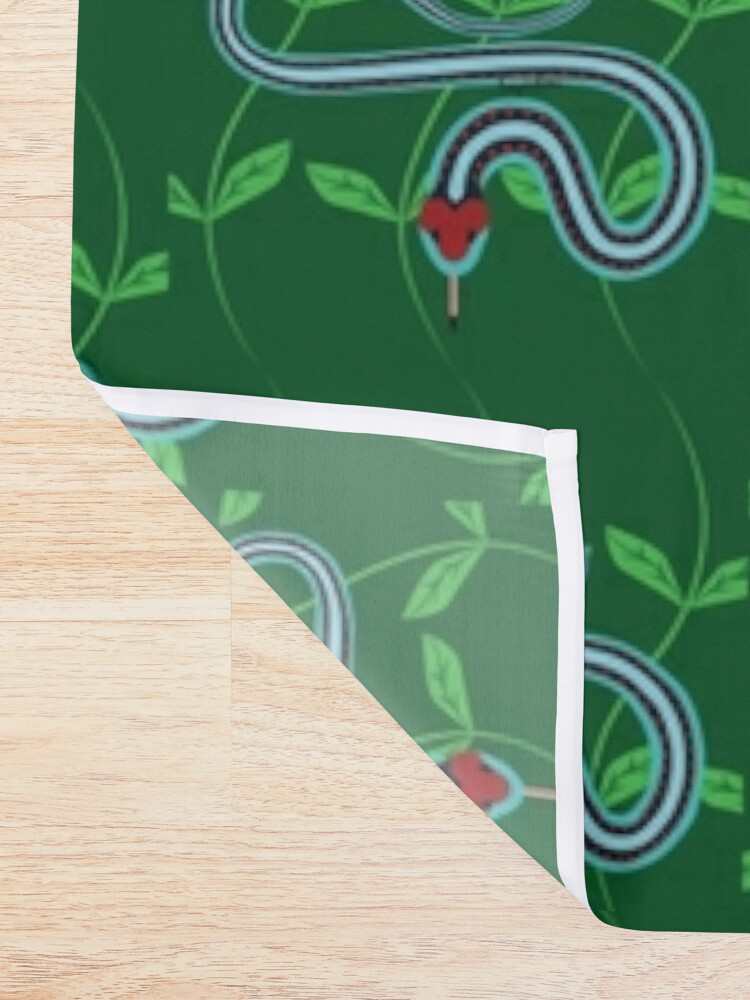 Alternate view of Snake Pattern Shower Curtain