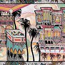 Palm Trees and Havelis by Marium Rana