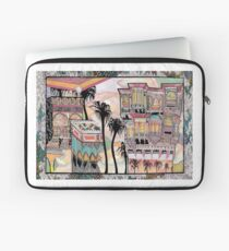 Palm Trees and Havelis Laptop Sleeve