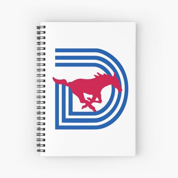 SMU Triple D Logo Spiral Notebook