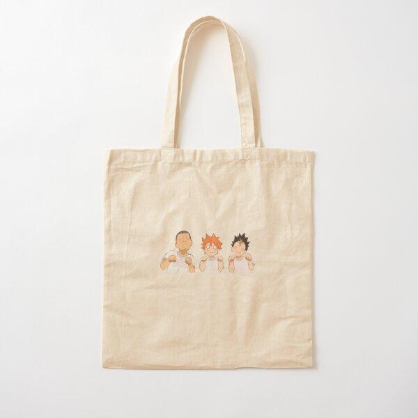 haikyu !! mignons hinata, nishinoya et tanaka Tote bag classique