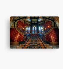 St. Pancras Renaissance London Hotel Canvas Print