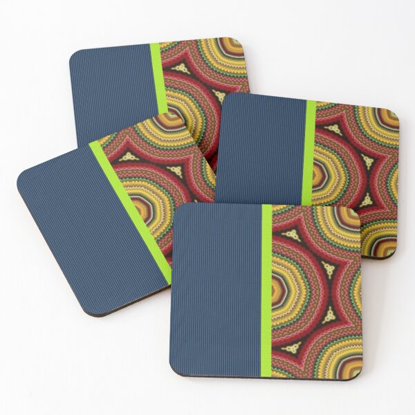 On The 8's Coasters (Set of 4)