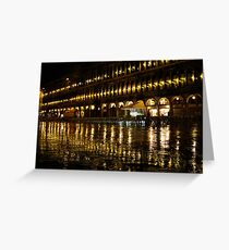 St Marks Square - Venice Greeting Card