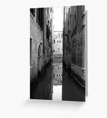 Behind La Fenice - Venice Greeting Card